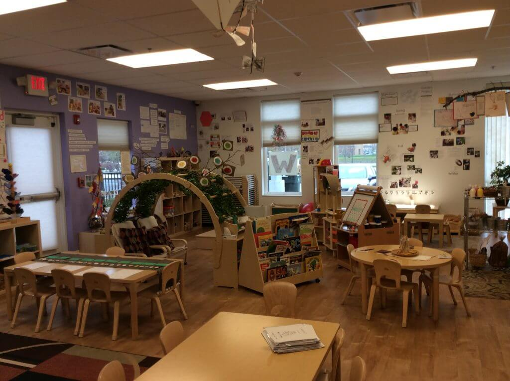 KLA Schools of plainfield preschool classroom environment