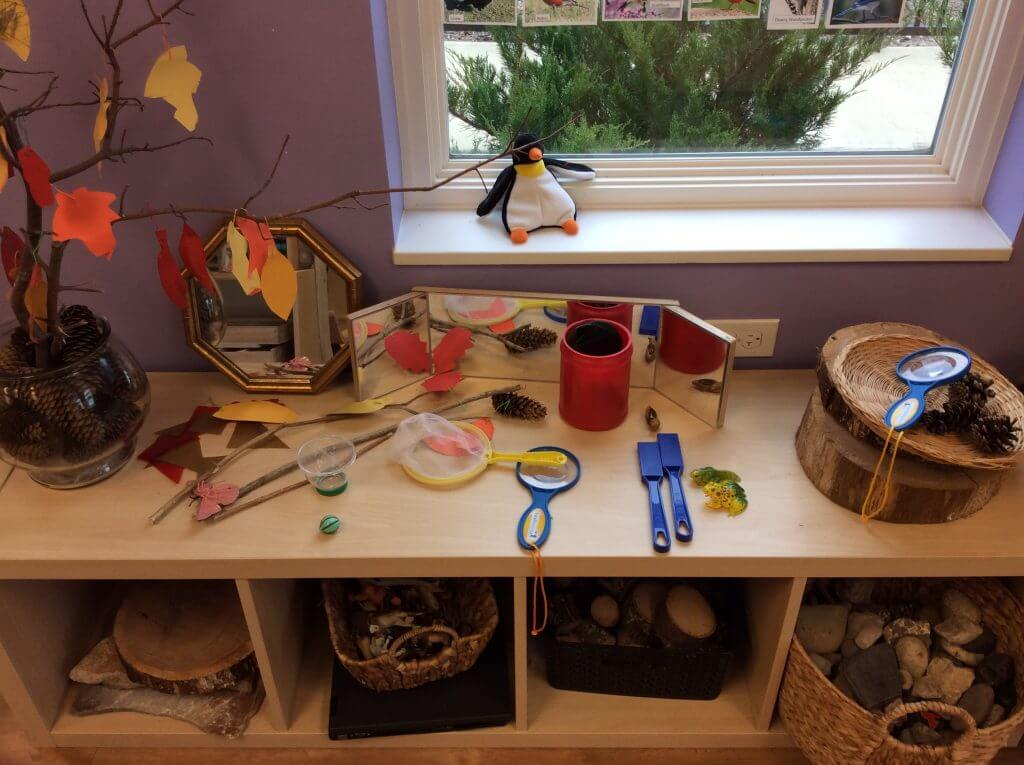 Science provocation at KLA Schools of plainfield