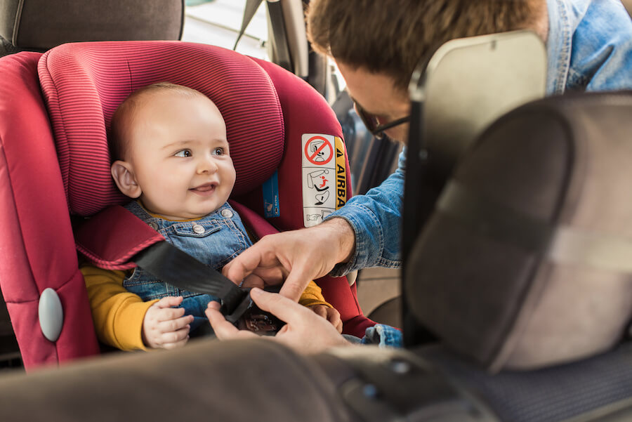 Car seat safety KLA Schools Naperville